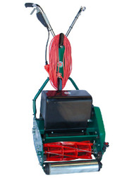 Protea SI355E 14 Inch Heavy Duty Cylinder Reel Roller Mower with Electric Motor + Rubber Roller
