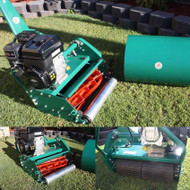 Protea (Scott Bonnar) SI510BS 20 Inch Heavy Duty 9 Blade Cylinder Reel Roller Mower with Briggs & Stratton 5HP + Smooth Roller