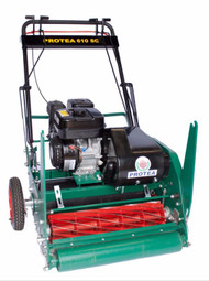Protea SC510 20 Inch 12 Blade (Supercut) Precision Cylinder Mower with Honda 5HP + Smooth Roller