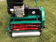 Protea SI355-E Electric 14 Inch 6 Blade Cylinder Reel Roller Mower with Electric 3/4 kW Motor + Rubber Roller