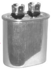 15mfd/370-440v Oval Run Capacitor