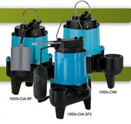 10SN-CIA-SFS Single Phase 115v 1/2 HP