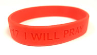 I Will Pray Wrist Band