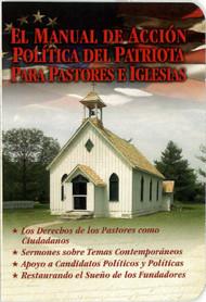 Patriot's Handbook [Spanish]: El Manual de Accion Politica del Patriota Para Pastores e Iglesias - Booklet