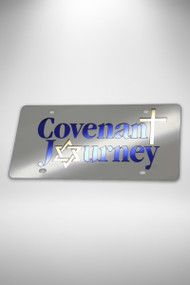 License Plate  - Covenant Journey