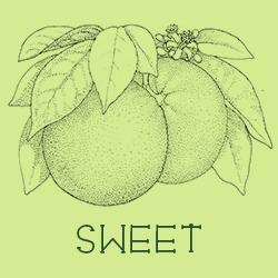 Sweet scent profiles