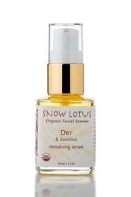 Dry & Sensitive Skin Revitalizing Organic Facial Serum 30 ml/1 oz