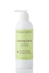 Lymphatic Detox Therapeutic Body Lotion – 240 ml/8 oz