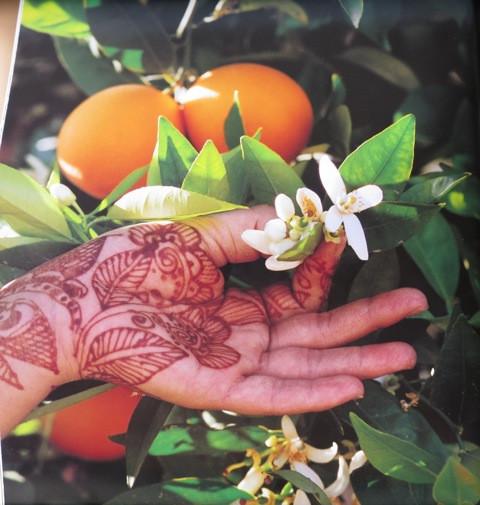 neroli henna