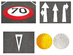 Microplastic pollution from thermoplastic road markings