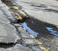 Microplastic pollution from road materials