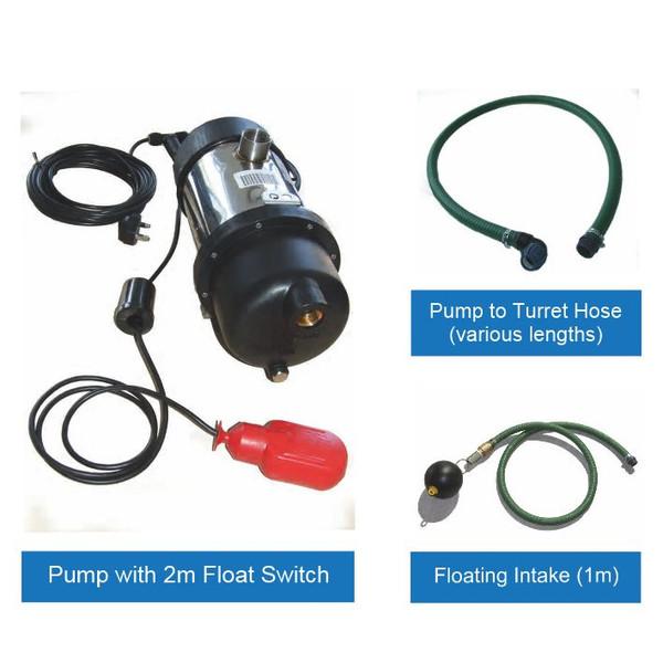 Rainwater Harvesting Pump Kit for installation inside a Water Storage Tank.