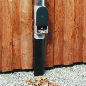 Leaf Separator, Downpipe Leaf Guard can be fitted at any height for easy maintenance.