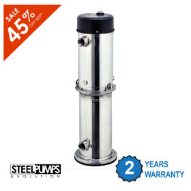 Powerful Multistage High Flow Vertical Pump with 2 Year Warranty - Clearance Price