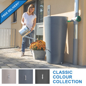 210 Litre Rainbowl Water Butt - Classic Colours