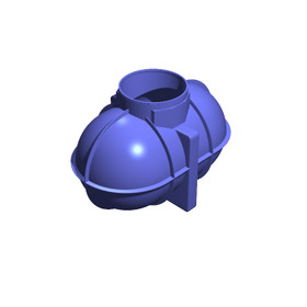 1800 Litre (396 Gallon) Underground Non-Potable Water Tank