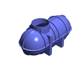 2600 Litre (572 Gallon) Underground Non-Potable Water Tank