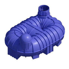 8400 Litre (1847 Gallon) Underground Non-Potable Water Tank (Single Access)