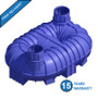 8400 Litre (1847 Gallon) Underground Non-Potable Water Tank (Twin Access) - Free Delivery & 15 Year Warranty