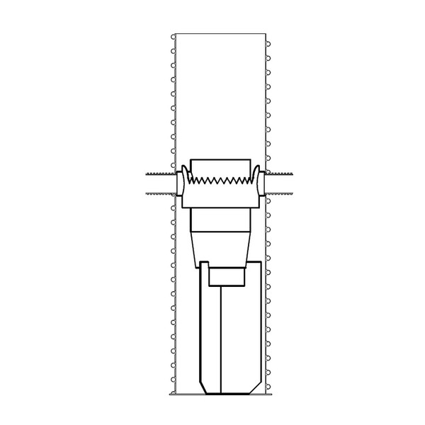 3P HydroShark Particle Separator 750 Max in a PE Chamber