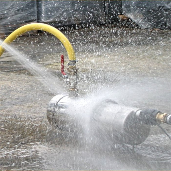 The High Volume Wash Down Pump Sets are Waterproof (IP68)
