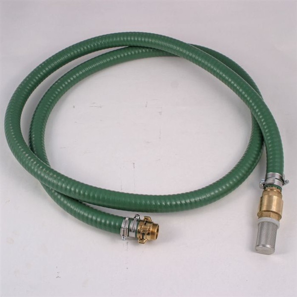 """1"""" Pump Suction Hose Kit, available in different lengths."""
