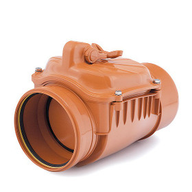 Backflow Prevention Valve for fitting to Sewage Pipe