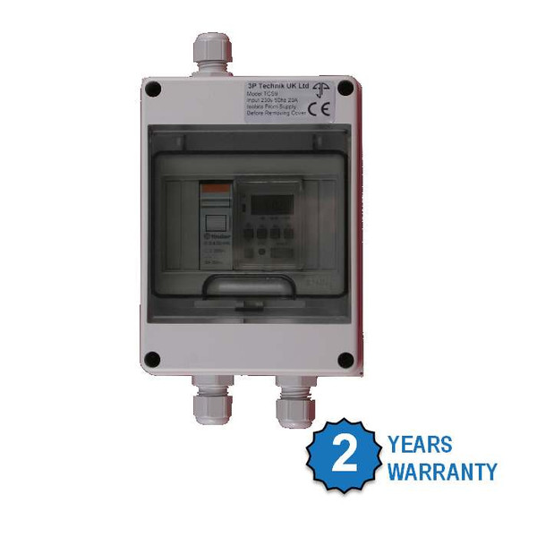 TCS9: Time Controlled Tank Level Switch for water, chemical, diesel and other liquid storage tanks with 2 year warranty.