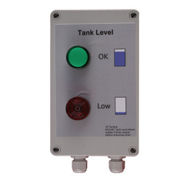 RCALM Tank Liquid Level Monitor. Two lights and low level buzzer.