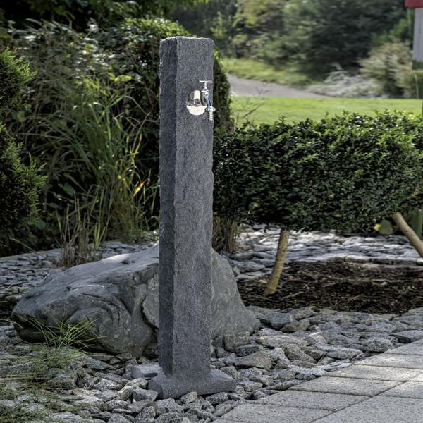 Garden Standpipe in a Dark Granite effect Finish.