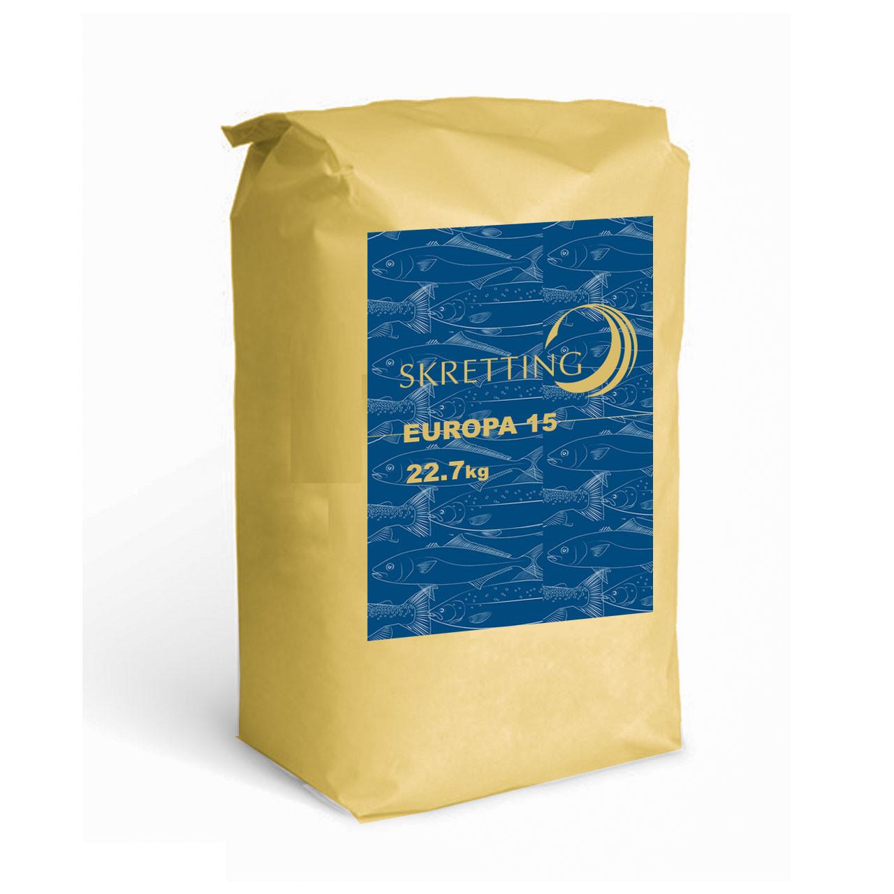 Skretting alimento Europa 15 de 3 mm [Saco de 22.7 Kilos]