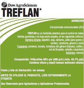 Herbicida Treflan
