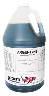Yodo Argentyne desinfectante acuicultura