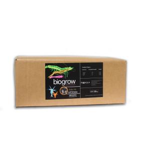 El Flake de Artemia Biogrow® color negro es un alimento elaborado en Estados Unidos para ProAqua México con muy altos niveles de artemia frescongelada y deshidratada