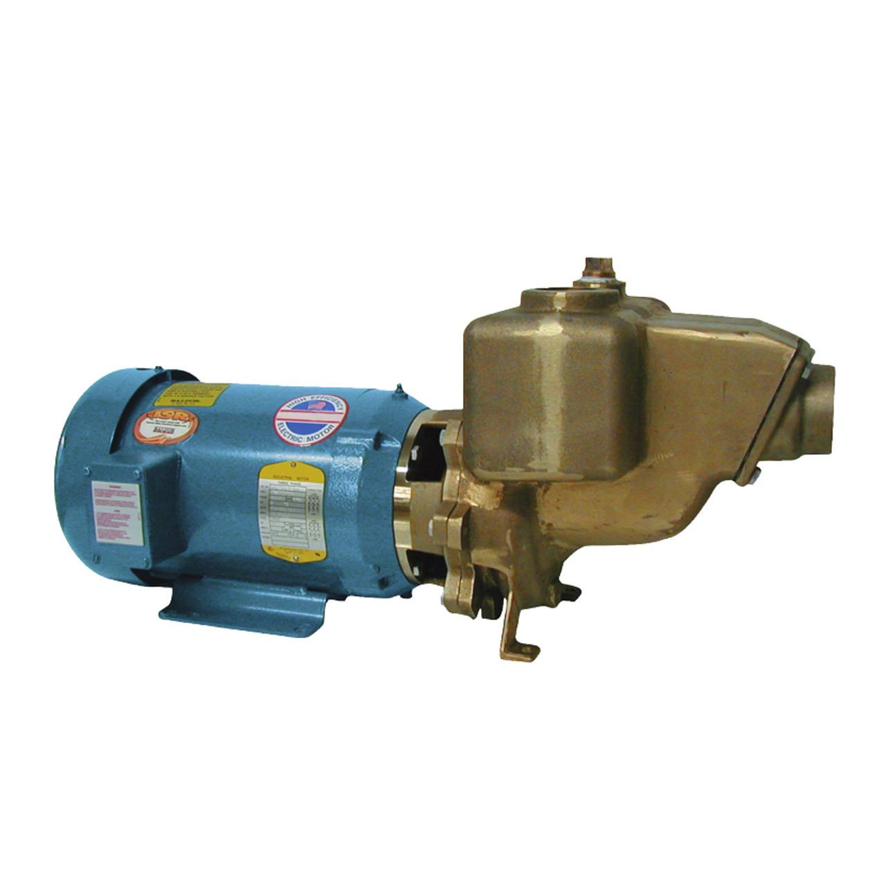 Bomba centrífuga marina Q-Pumps serie R