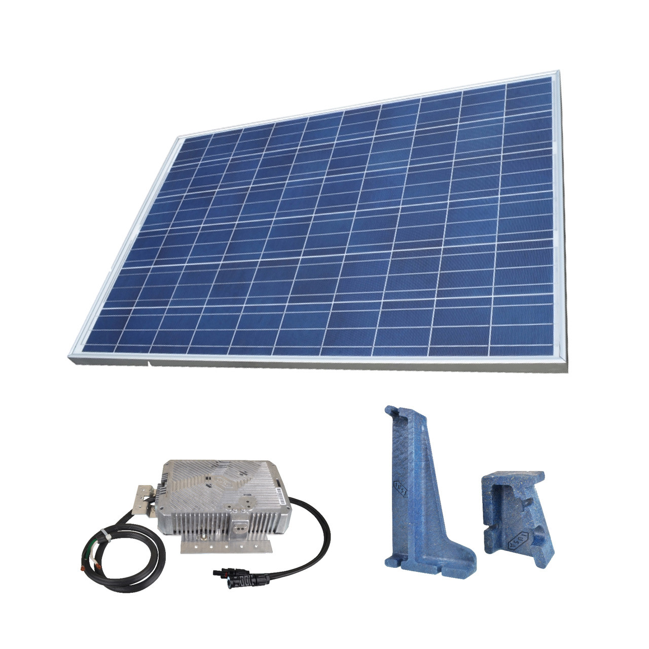 Panel solar fotovaltico policristalino IUSASOL