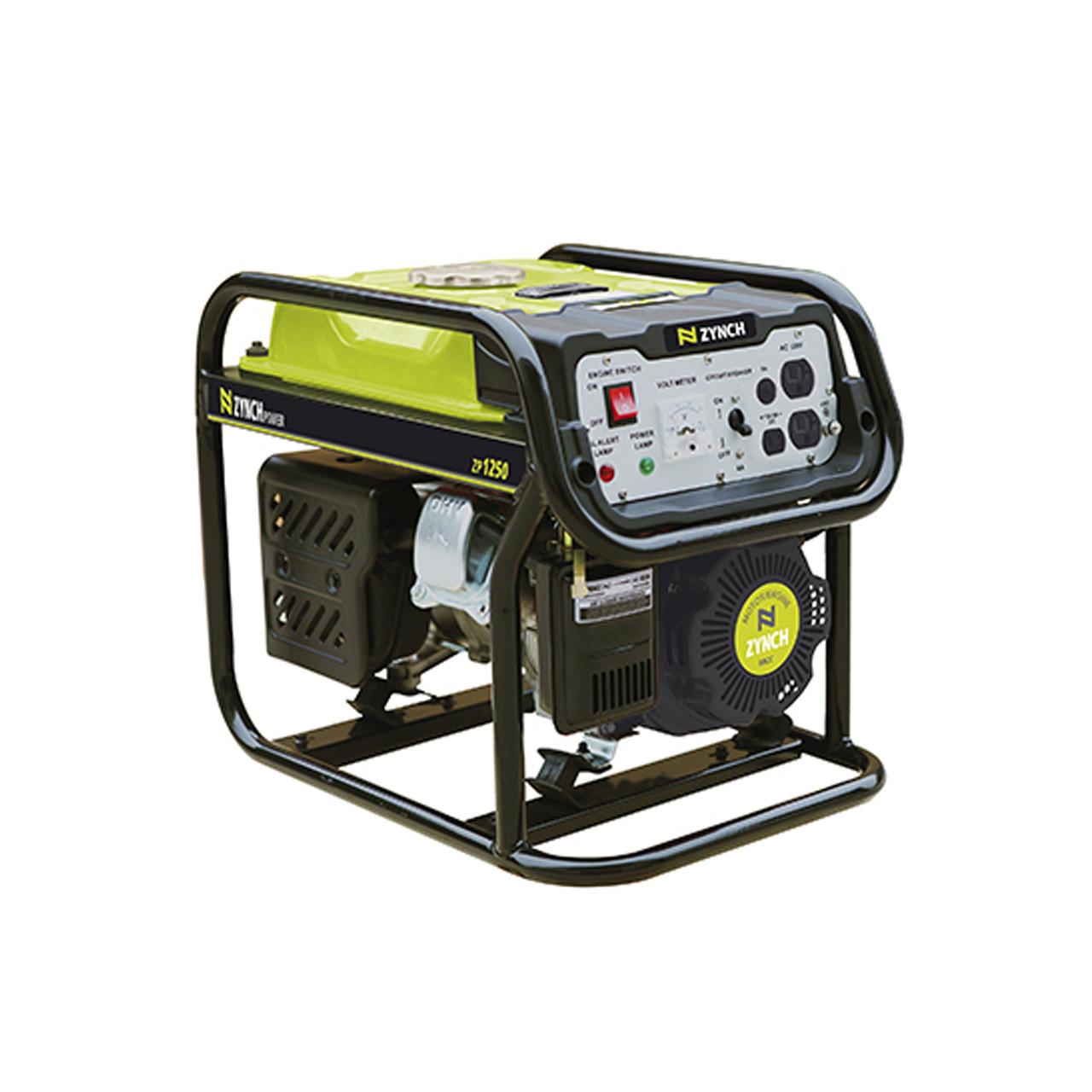 Generador eléctrico portatil 1200 W a gasolina ZYNCH