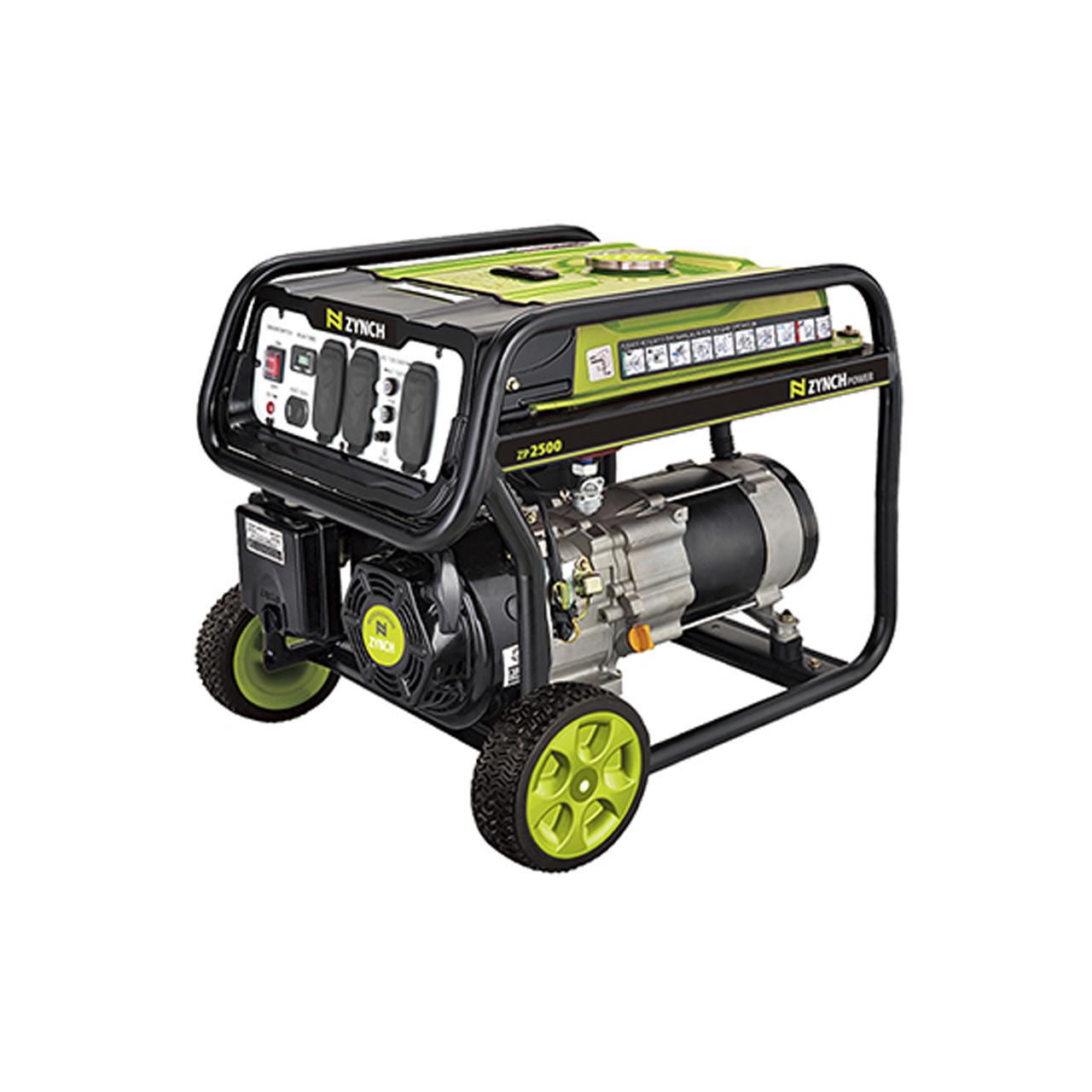 Generador eléctrico portatil 5000 W a gasolina ZYNCH
