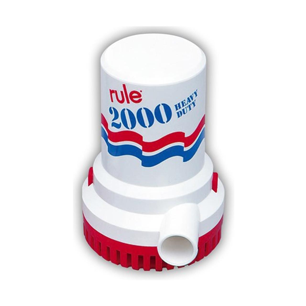 Bomba sumergible Rule de 2000 GPH