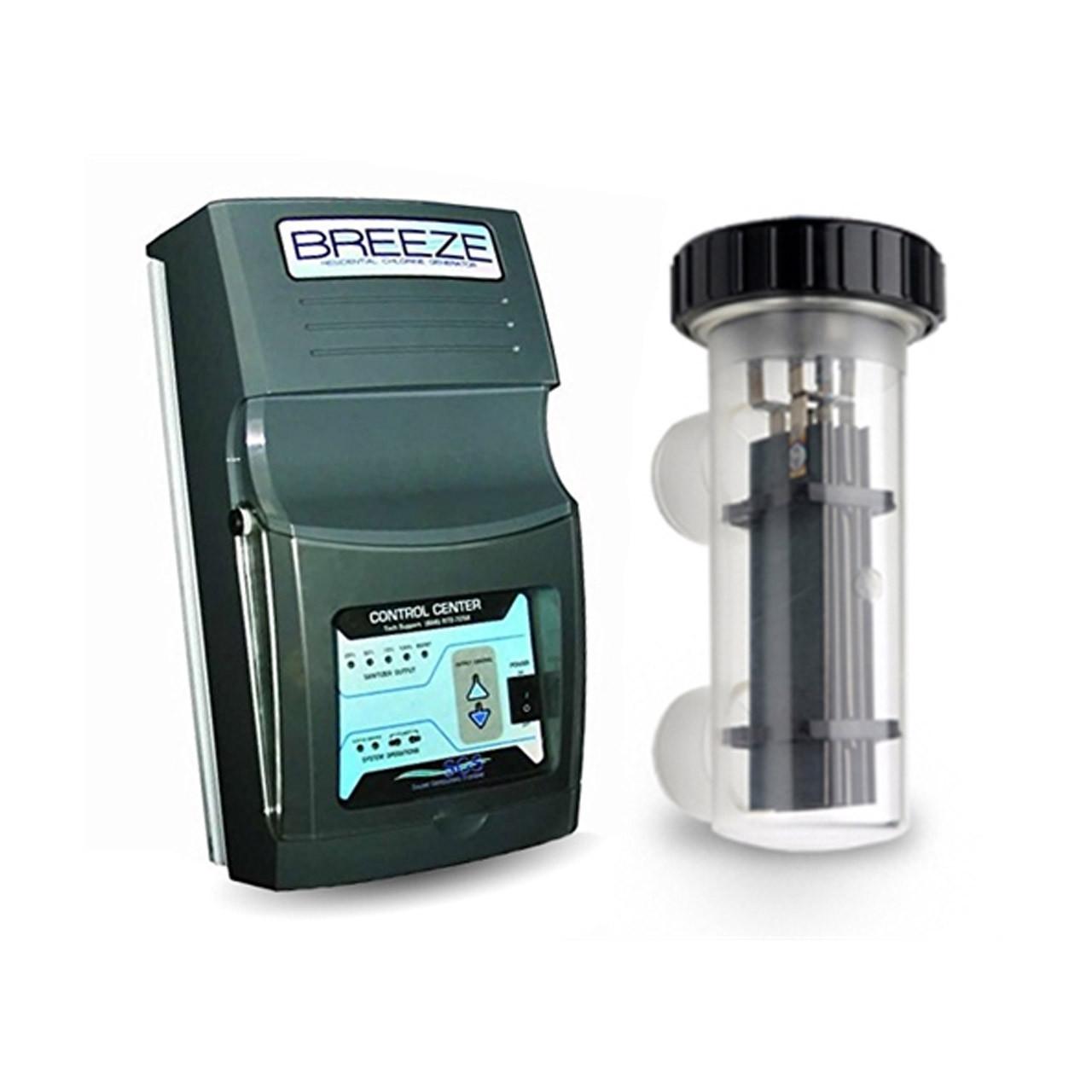 Generador de cloro de agua salada Breeze Professional Series de SGS