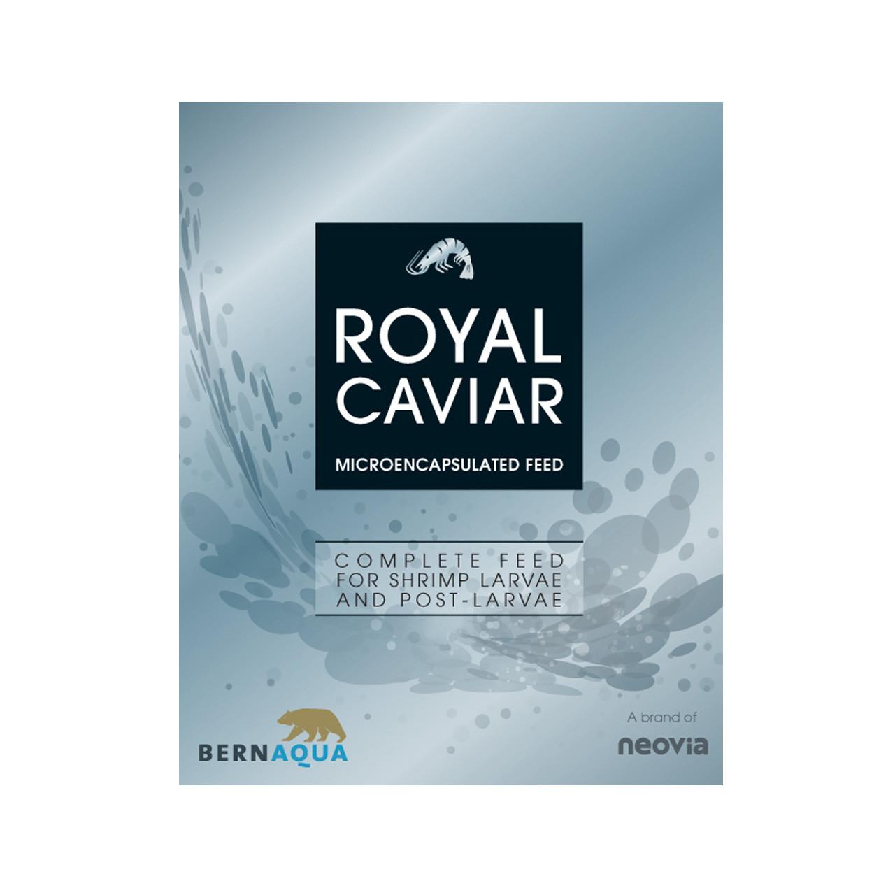 Royal Caviar dieta para larvas de camarón BernAqua