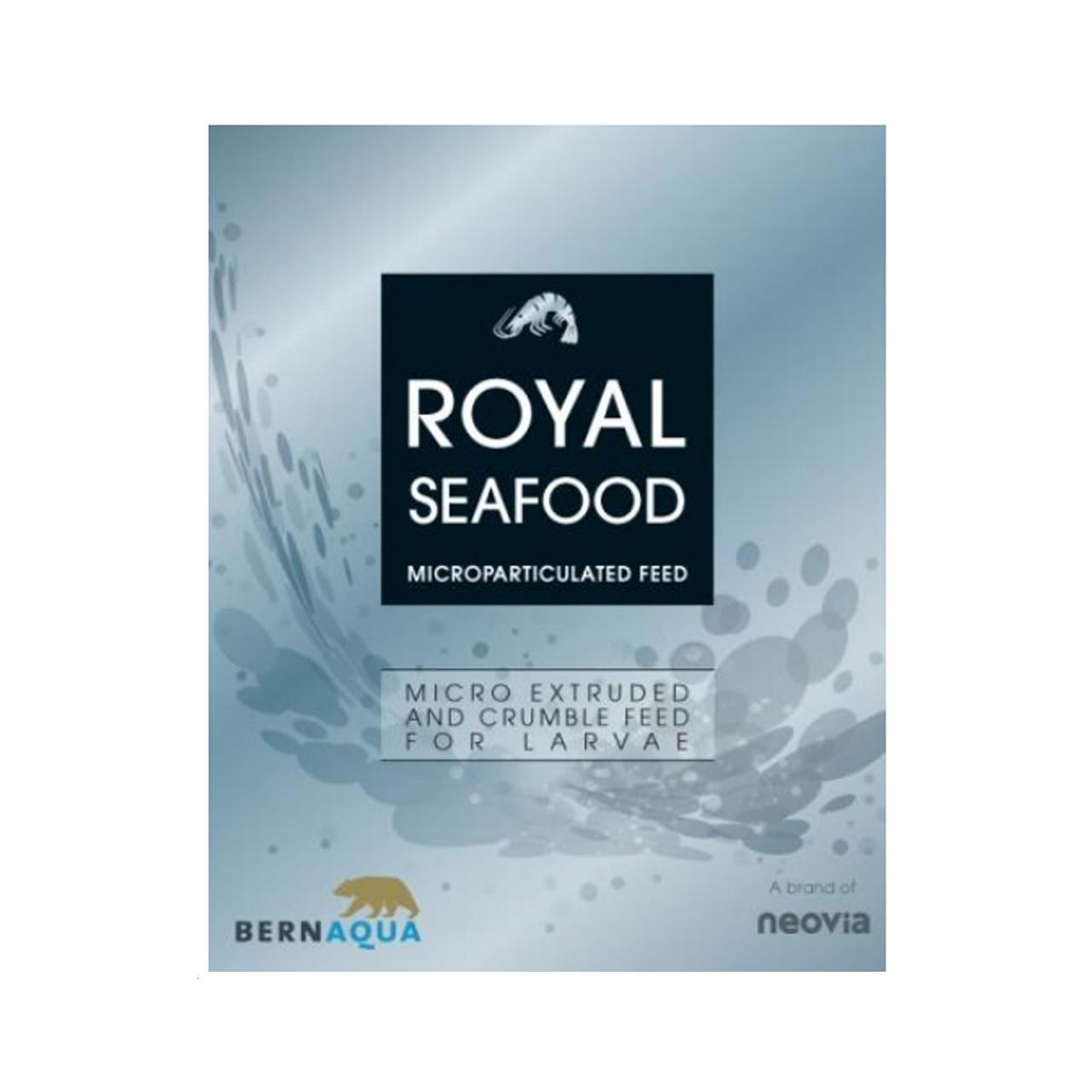 Royal Seafood alimento para post-larvas de camarón BernAqua