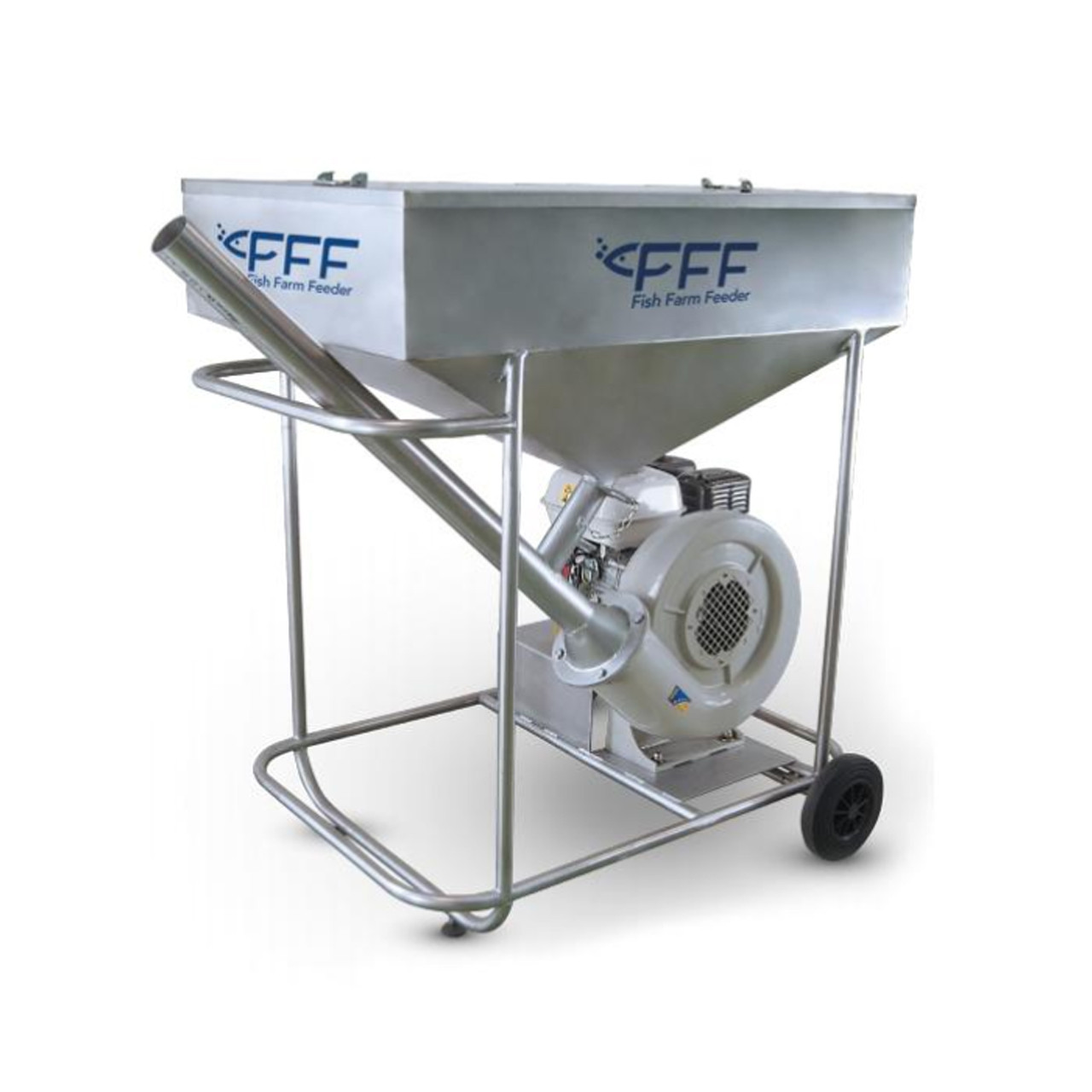 Cañón alimentador de acero inoxidable FFF