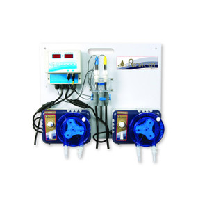 Sistema de todo en uno para monitoreo y control de pH líquido ácido / sistema de cloro líquido ORP para piscinas spas y jacuzzis ROLA-CHEM