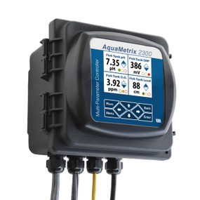 Controlador industrial AM-2300 multiparametro Aquametrix