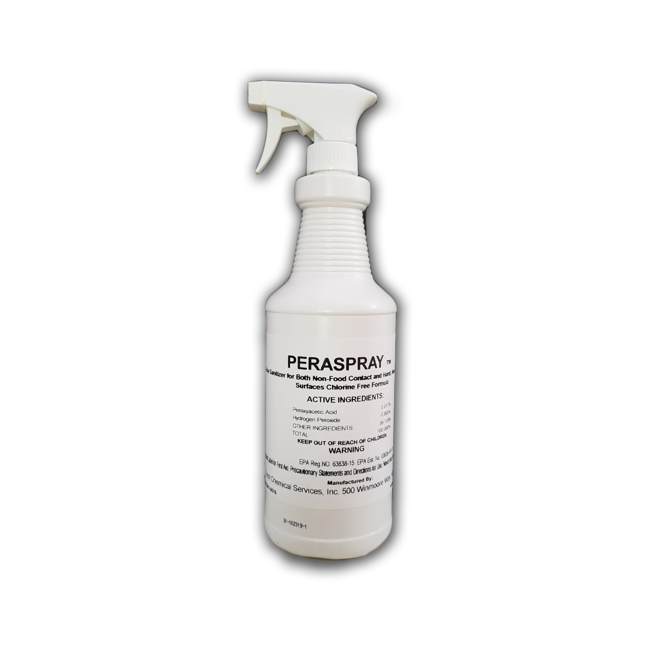 Peraspray desinfectante antibacteriano y antiviral en un solo paso Envirotech