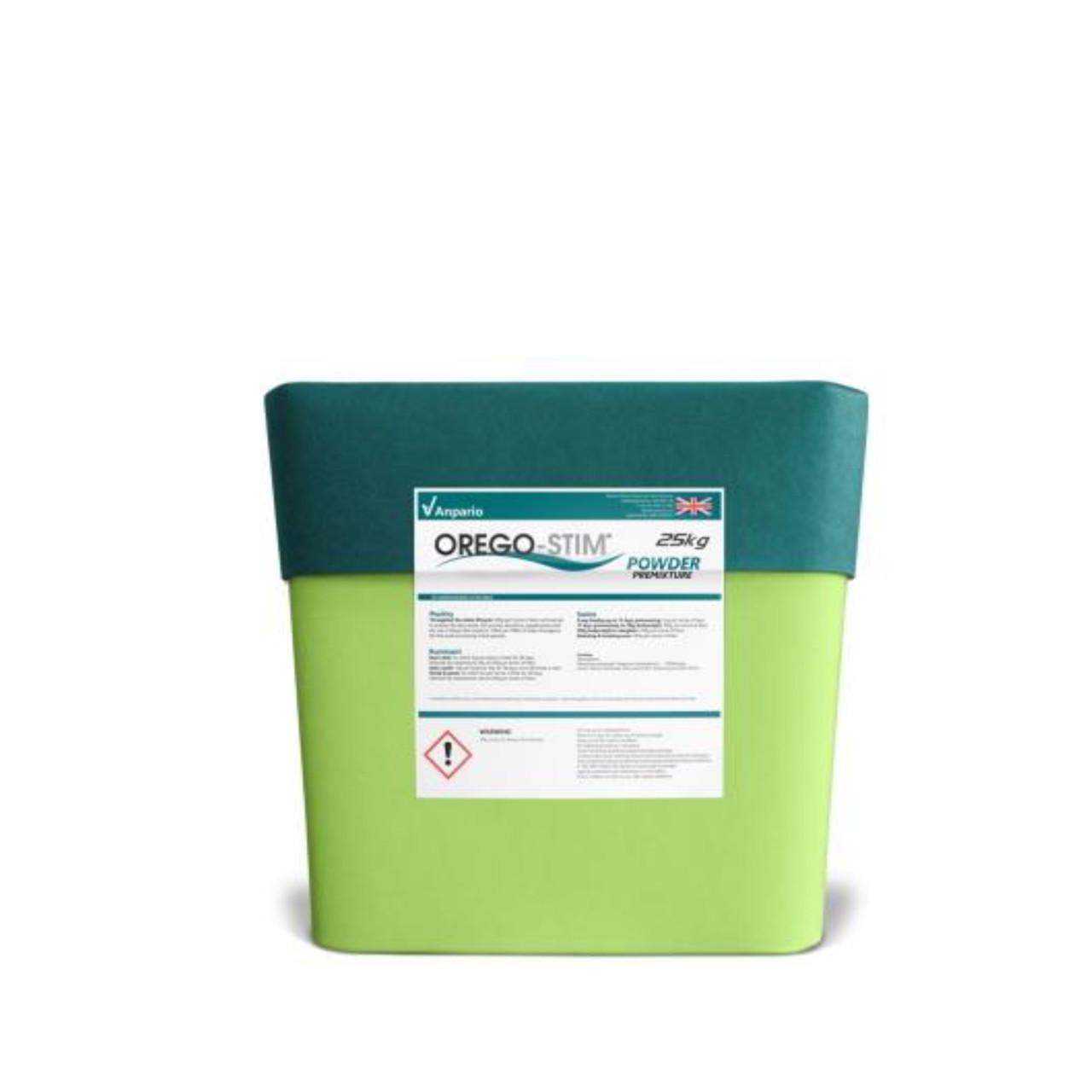 Orego-Stim Powder aditivo alimenticio estimulador de crecimiento / antioxidante / atractante Anpario