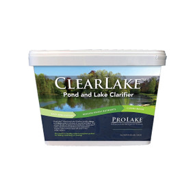 ClearLake™ clarificador natural para estanques y lagos Keeton Industries