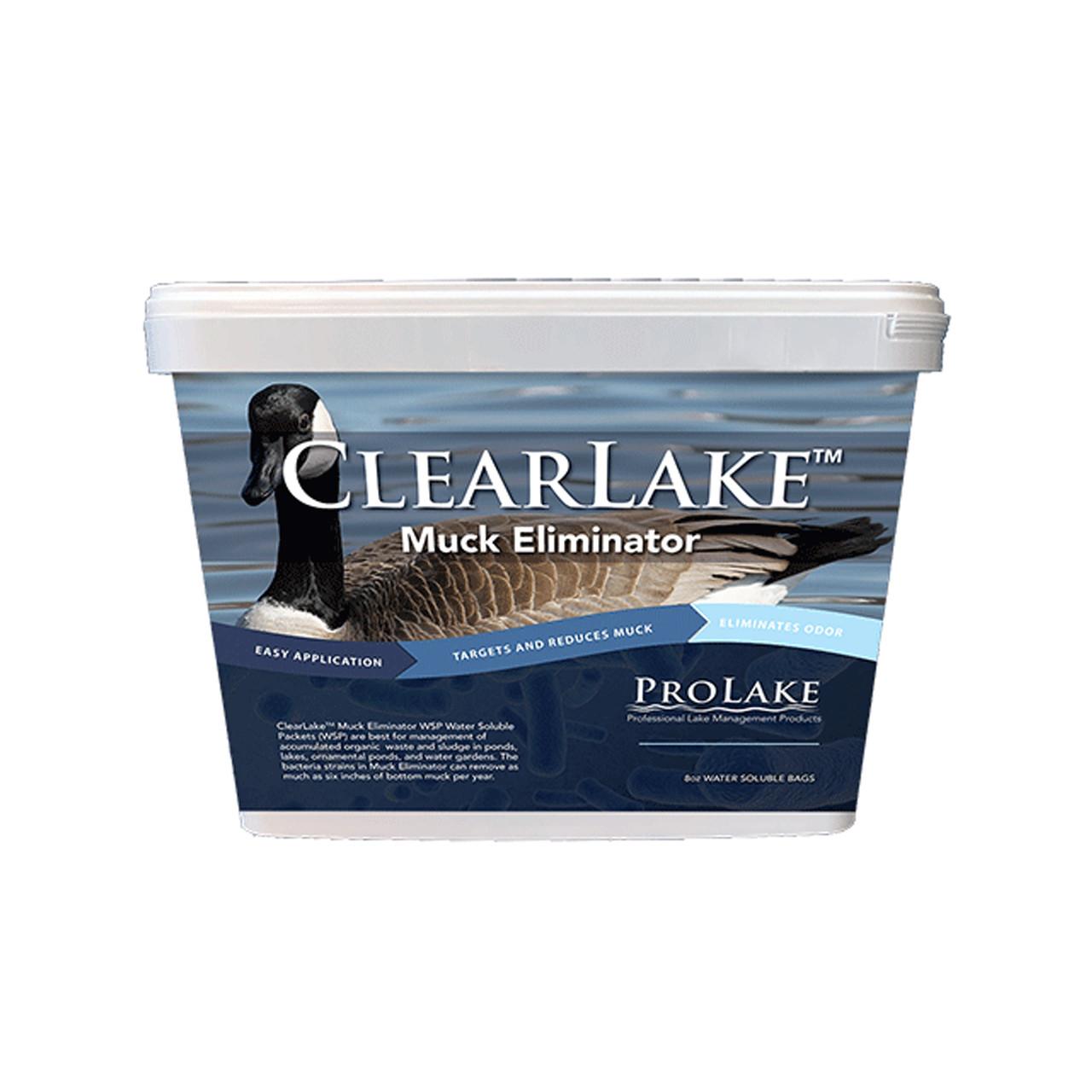 ClearLake™ eliminador de lodos y fango para estanques y lagos Keeton Industries