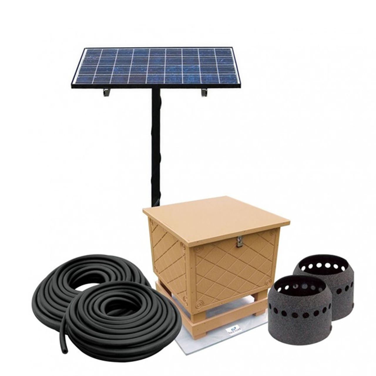 Sistema de aireación de energía solar para lagos y estanques Keeton Solaer SB-1.2 hasta 2 acres